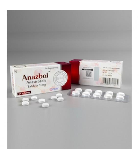 Anazbol Anastrozole Cooper Pharma